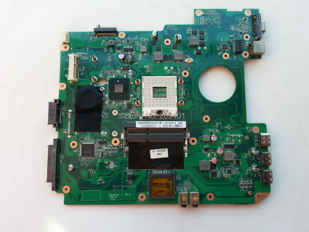 Excellent quality For Fujitsu Laptop font b Motherboard b font AH530 Mainboard DA0FH2MB6E0 100 Tested