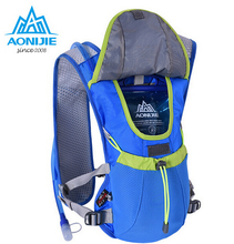 AONIJIE Running Cycling Bag Hydration Bladder BackPack Outdoor Sports Hiking Camping Pack With Optional 1.5L Hydration Water Bag