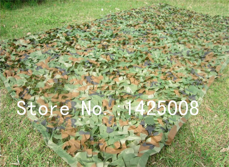 3 4M four colors Camouflage net Camo Blinds Net Cover For Army Military Hunting Camping Military