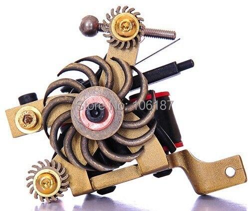 ФОТО M011  Professional Handmade Tattoo Machine Gun  Iron Cast Frame Custom Tattoo Gun For Liner Shader