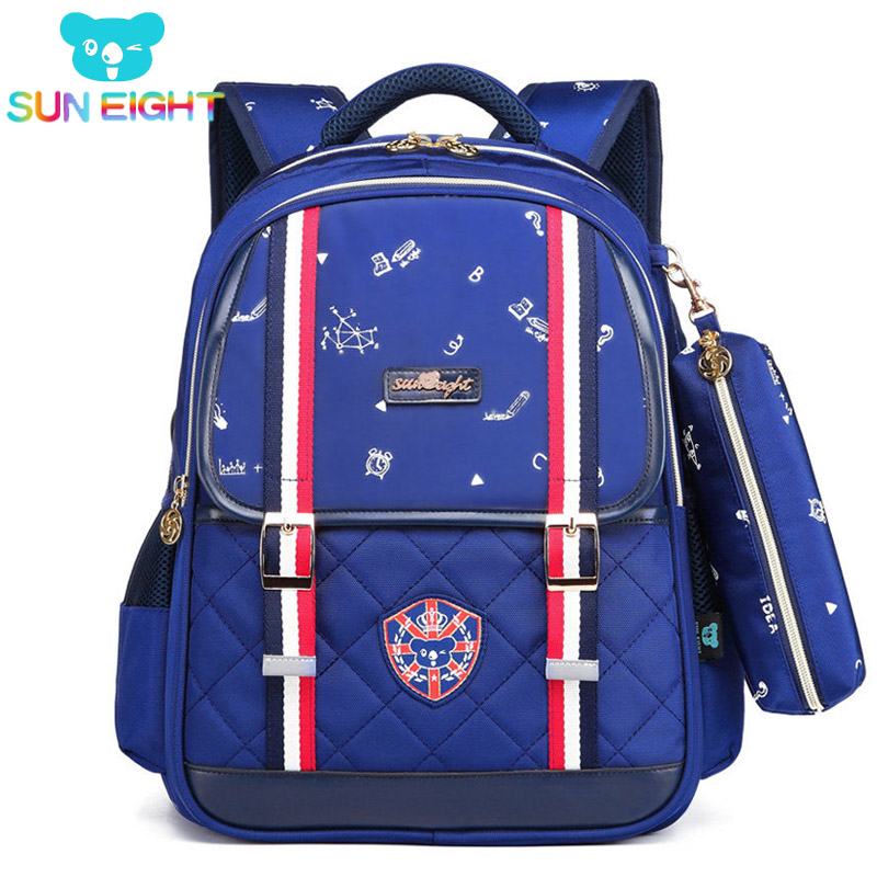be6af2e95079 SUN EIGHT Backpack Schoolbag Polyester Fashion School Bags For Teenage Girls  and Boys High Quality Backpacks Kids Baby s Bags-in School Bags from Luggage  ...