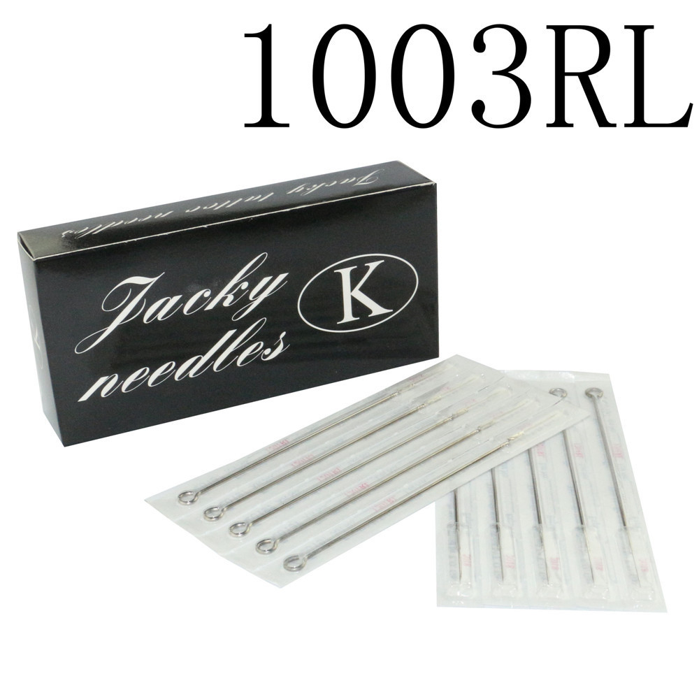 100PCS Professional Tattoo Needles 3RL Disposable Assorted Sterile 3 Round Liner Needles For Tattoo Body Art Free Shipping 11