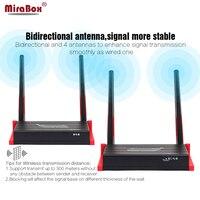 MiraBox 300 м (984ft) беспроводной HDMI передатчик приемник ИК пульт Управление HD 1080 P 5,8 ГГц Wi Fi AV видео HDMI Беспроводной Extender