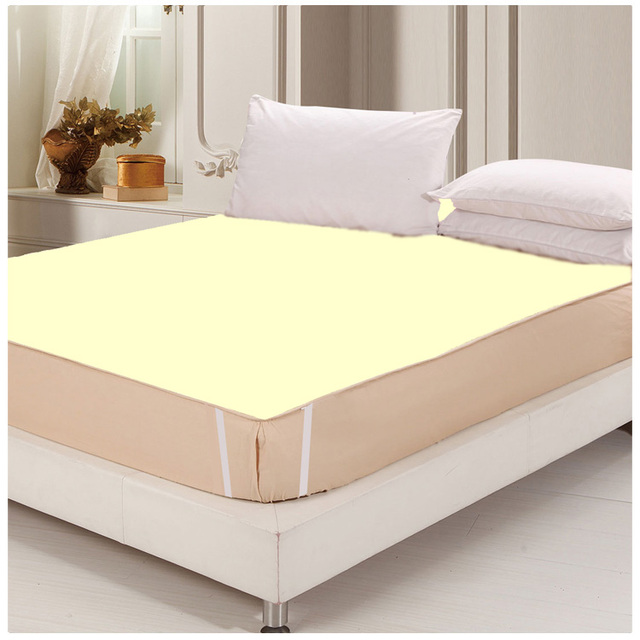 Great 180*200 100% Cotton Waterproof Bed Sheets Changing Mat Mattress Protector  With TPU