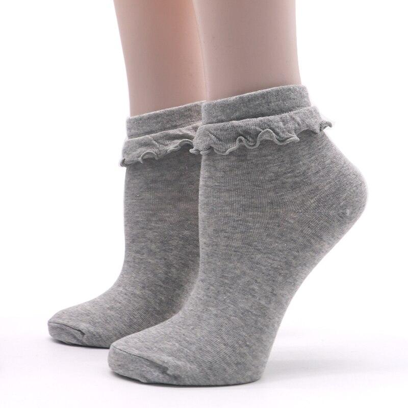 Japanese Kawaii Womens Socks with Lace Lovely Sock Cute Ladies Socks for Women Lace Meias Femininas Ruffle Retro Socks Female