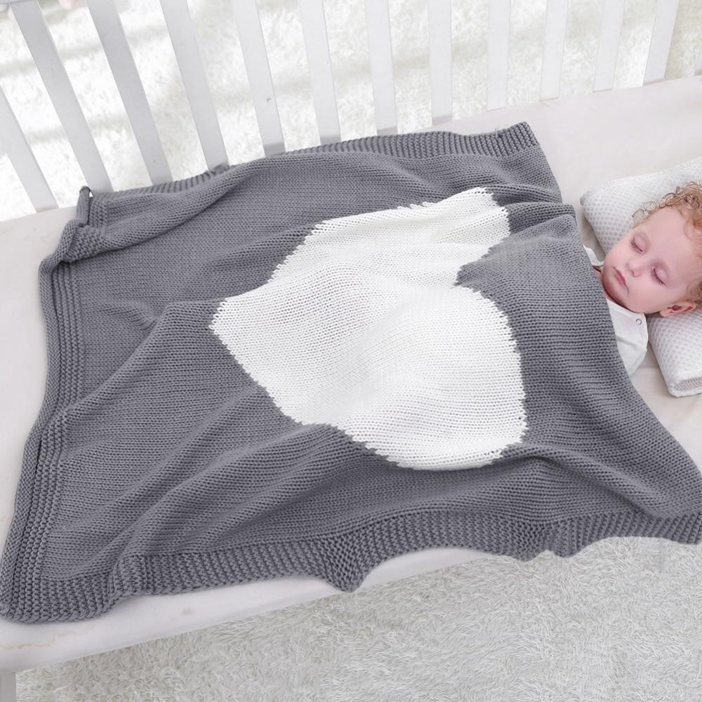 Couverture bébé enfants hiver printemps doux coton couvertures nouveau-né bébé Swaddle sommeil lit trou Wrap enfants literie serviettes de bain