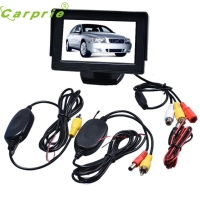 New Arrival 4 3 Inch TFT LCD Monitor Wireless Car Backup Camera