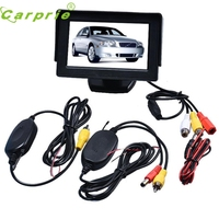 New Arrival 4 3 Inch TFT LCD Monitor Wireless Car Backup Camera
