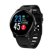 SENBONO חדש גברים חכם שעון גשש כושר קצב לב צג מד צעדים IP68 עמיד למים נשים S08 Smartwatch עבור אנדרואיד IOS