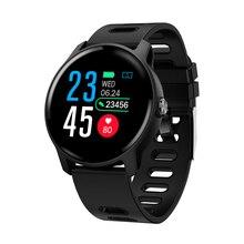 SENBONO Nuovo Uomini di Smart Vigilanza di Forma Fisica Tracker Monitor di Frequenza Cardiaca Contapassi IP68 Impermeabile Donne S08 Smartwatch Per Android IOS