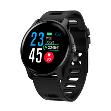 Senbono smartwatch de monitor para android e ios, smartwatch masculino, monitor de atividades físicas, pedômetro, à prova d água ip68, feminino s08
