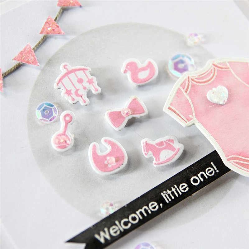 Naifumodo Little One Metal Die Cuts Cutting Dies for DIY Scrapbooking Embossing Paper Cards Making Decorative Craft New Arrival