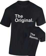 The Original and Remix T Shirt Father Son Daughter Fathers Day Gift SM - XXXL Funny Tops Tee New Unisex free shipping