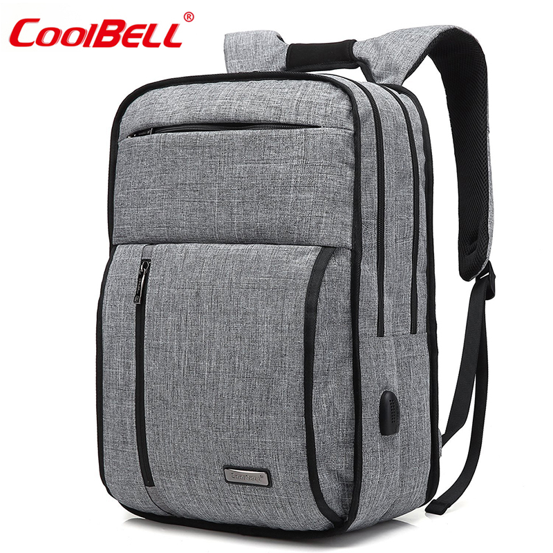 15.6 Inch Waterproof Backpack Travel Rucksack Multi-compartment Laptop Backpack Lightweight Student Day pack For Women Men