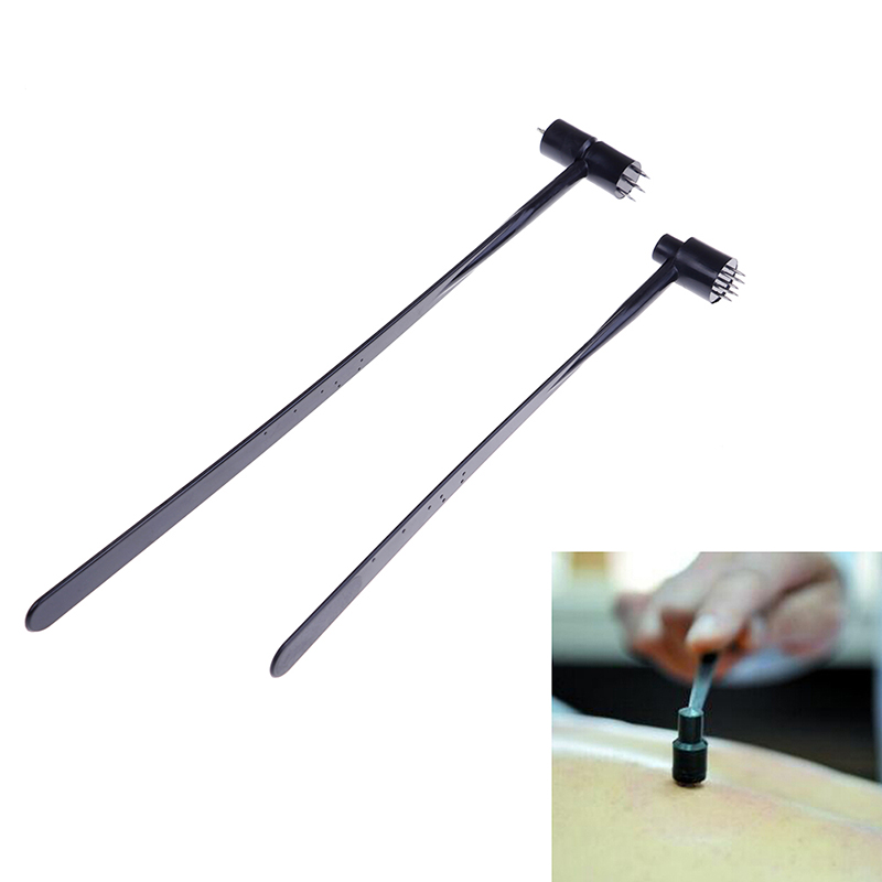 Traditional Medical Double Head Plum Blossom Needle Skin Needle Seven Star Needle Blood Needle Cupping Acupuncture Treatment