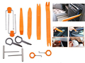 12Pcs/Set Car Radio Pry Tools Door Clip Panel Trim Dash Audio Removal Open Installer Repairing for Vehicle Dismantling Tool