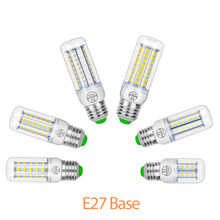 10pcs GU10 Led Lamp 220V Corn Bulb E27 Light Candle E14 SMD 5730 Chandelier Spotlight 5W 7W 9W 12W 15W 18W Bombills 230V