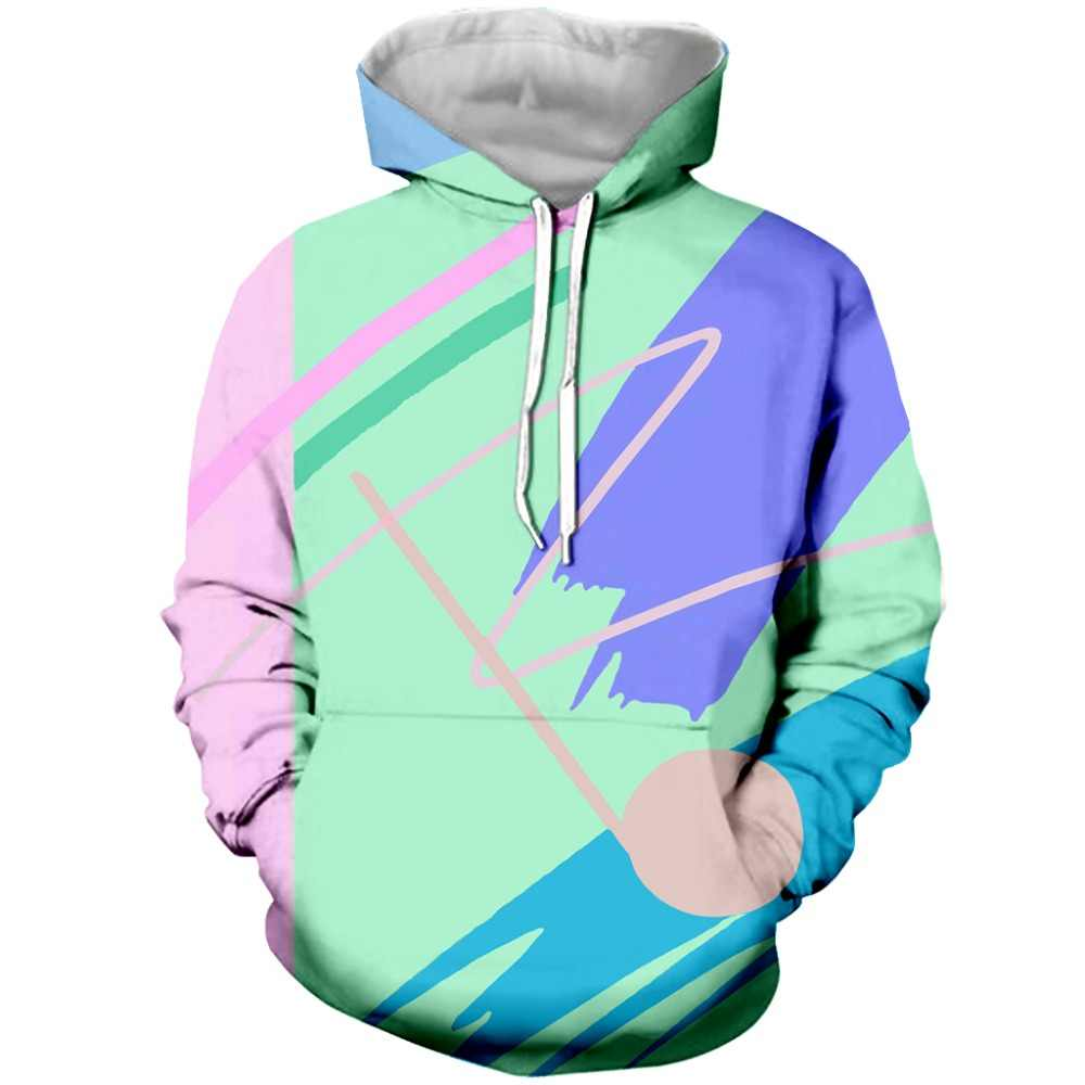 bc66c22d6 ... Plus Size S-5XL Men Women Long Sleeve Outerwear Harajuku Hipster  Pullover Fresh Paint V2
