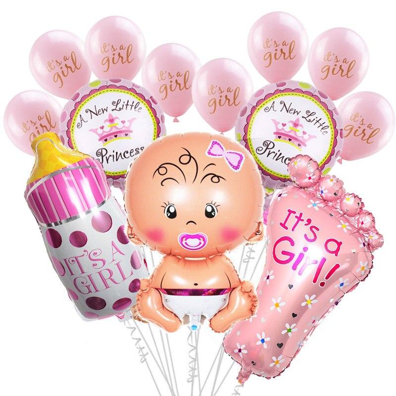 Baby Shower Jongen Meisje Opknoping Decoratie Het EEN Jongen Meisje Oh Baby Ballon Geslacht Onthullen Kids Verjaardagsfeestje Decoratie levert 75 1
