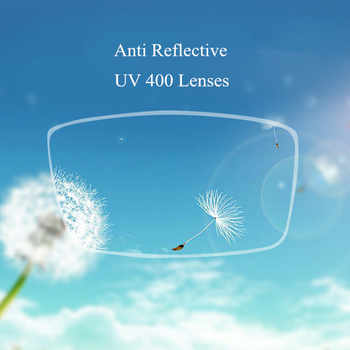 Chashma 1.74 Index Thinnest Blue Ray Block Glass Clear Color Anti Reflective Ultra Thin Prescription Lenses Top Quality Lens