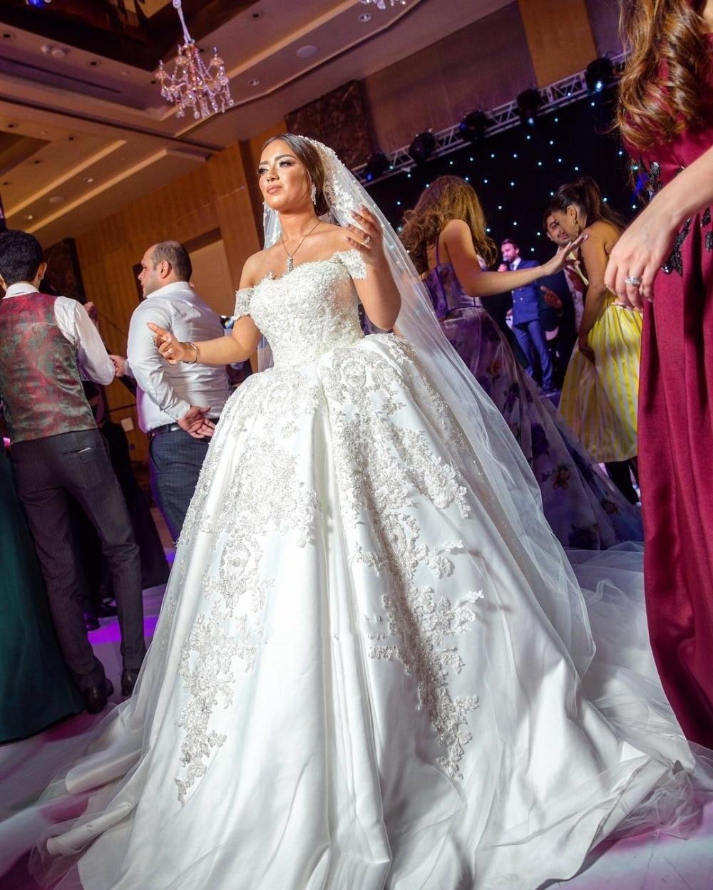 Backlakegirls Mariage Luxury Arabic Princess Ball Gown