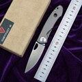 Район 9 E190 складной нож 14C28N лезвие титановая ручка тактические уличные suvival походные Карманные Ножи EDC Too
