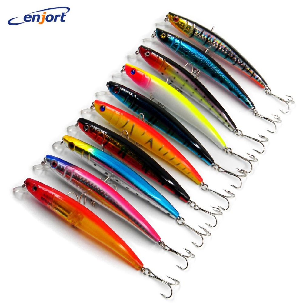 20pcs 115mm Fishing Lure Bait trackle trout Minnow 11.5CM 11.2G 4# hooks Top Quality fish lures protein pesca artificial lures
