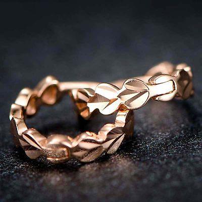 Boucles doreilles en or Rose pur Au750 18 K pour femmesBoucles doreilles en or Rose pur Au750 18 K pour femmes