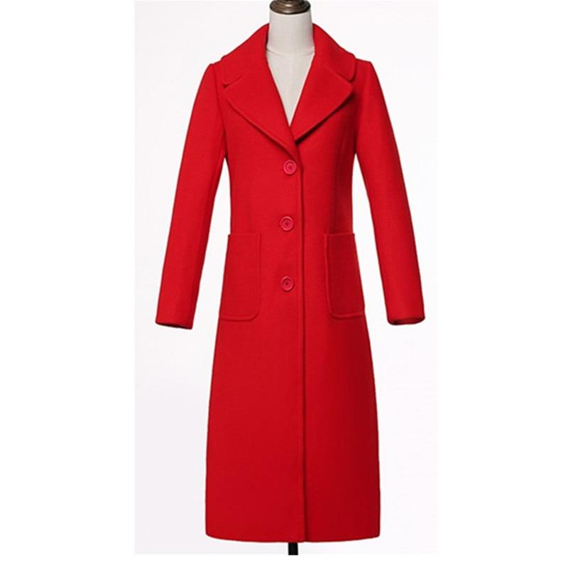 D'hiver Longue Manteaux Chaleur De Ioqrcjv big black Red Femme Pour Manteau La H369 Tops Laine red Taille Matelassé Sauce Plus 2018 Femmes Armygreen Automne Coton Veste Tranchée dafrAa