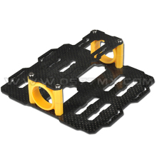 Tarot Dual Battery Holder Group Carbon Fiber TL80B05 Dia 25mm