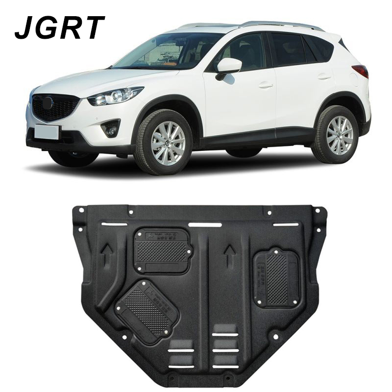Car styling For Mazda CX-5 plastic steel engine guard For CX-5 2011-2016 Engine skid plate fender 1pcCar styling For Mazda CX-5 plastic steel engine guard For CX-5 2011-2016 Engine skid plate fender 1pc