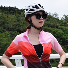 Summer 2019 France Cycling Jersey Mtb Shirt Women Short Ropa Ciclismo Clothing Quick-Drying Bicycle Outerwear