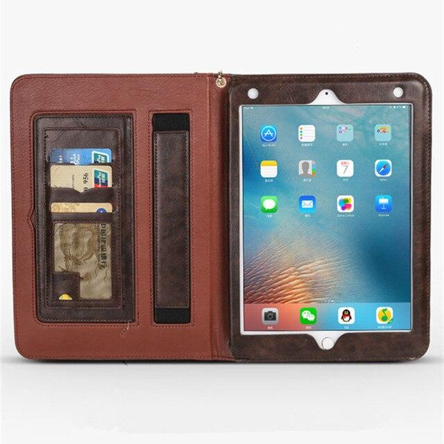 Funda de cuero de lujo para ipad Pro 10,5 Folio soporte Smart Cover activación y reposo automático para ipad Air 10,5 2019 tablet A1701