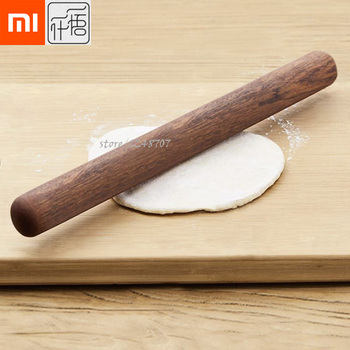 Xiaomi Mijia YWYS 32mm Kitchen Wooden Rolling Pin Fondant Cake Decoration Dough Roller Baking Cooking Tools Accessories Туалет