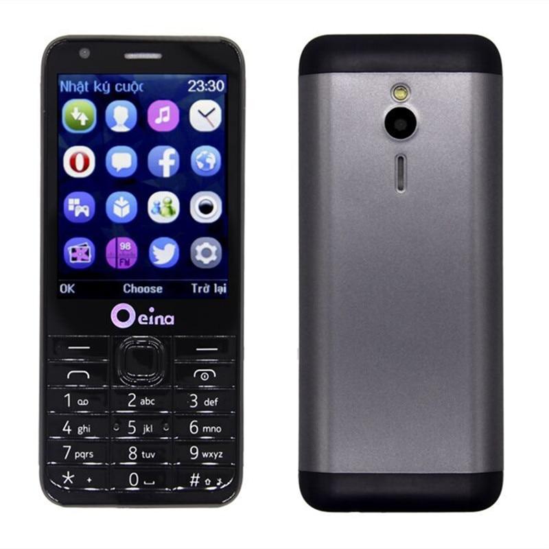 2017 Promotion OEINA 230 4SIM Phone With Quad Band Four SIM Card Bluetooth MP3 MP4 FM