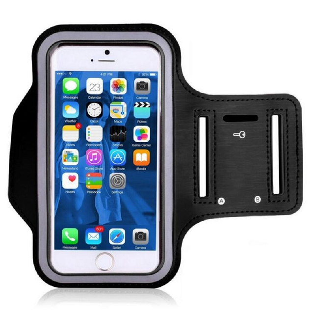 Gym Sport Armband Cases For Xiaomi iPhone 7 8 Plus Mobile Phone Armband Under 5.5 inch Phone Holder Bags Universal ArmBand Cover 1
