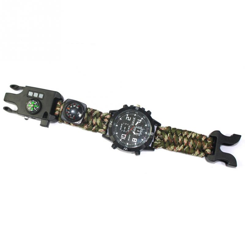 aeProduct.getSubject()  EDC Tactical multi Outside Tenting survival bracelet watch compass Rescue Rope paracord gear Instruments package HTB1prN1FKySBuNjy1zdxh4PxFXap