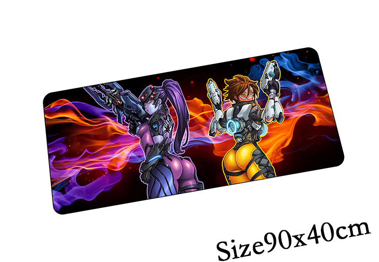Overwatch mouse pad 90x40cm gaming mousepad gamer mouse ...