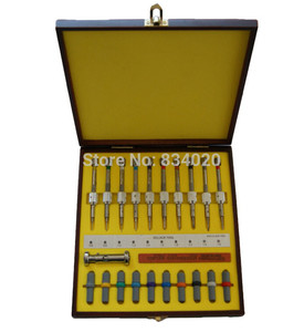 Image 1 - Free Shipping 10 pcs Watch Screwdriver Set Precision Screwdrivers Watch Repair Tools In Wood Case