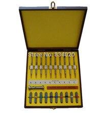 Freies Verschiffen 10 stücke Uhr Schraubendreher Set Präzision Schraubendreher Uhr reparatur tools In Holz Fall