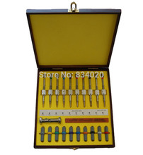 O Envio gratuito de 10 pcs Assistir Ferramentas de Reparação do Relógio Conjunto Chave De Fenda chave de Fenda de Precisão Em Caso De Madeira