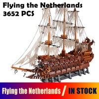 Модель Строительство Конструкторы игрушки 16016 3652 шт. летающие Нидерланды совместимые с лего Moc серии развивающие игрушки хобби