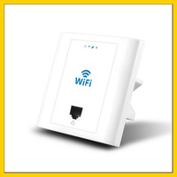 100PCS LF PW300S 48V 300Mbps inwall ap access point wi fi wireless router repeater