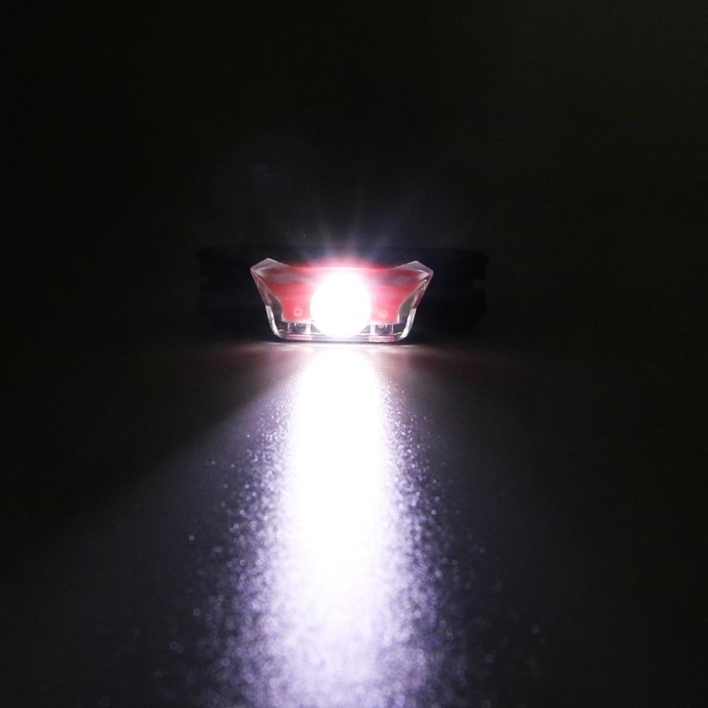 CREE LED Mini Bright Led Headlamp AA Battery Head Light Outdoor Night Ride Waterproof Hoofdlamp Head Torch in Headlamps from Lights Lighting