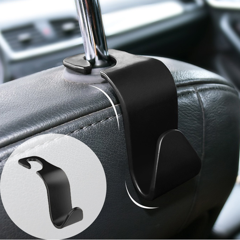 Grocery Headrest Bag Hanger Car Back Seat Hooks Car Accessories Storage Racks