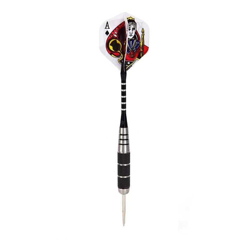 3 pz/set In Dardi D'acciaio di Tungsteno Ago In Acciaio Tip Freccette Con Dart Voli di Sport di 15.5 cm