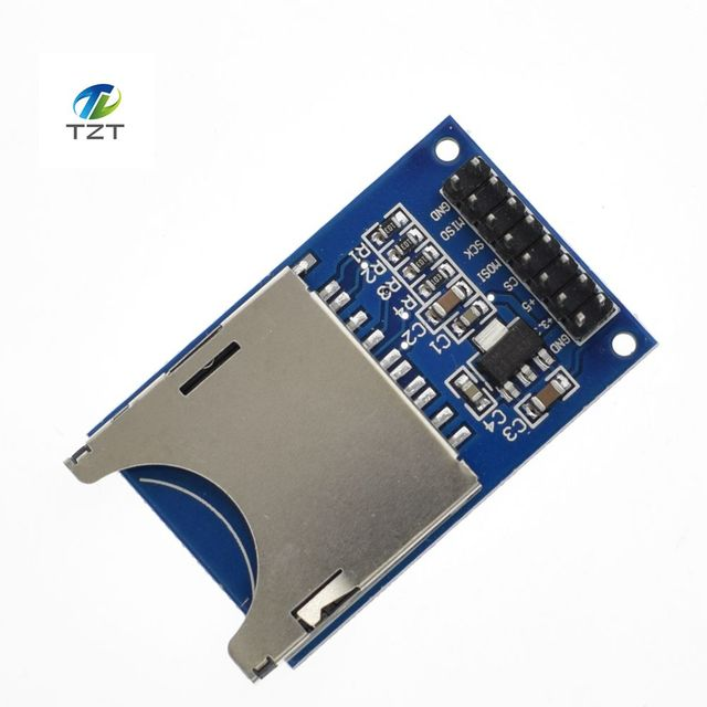1PCS/LOT Reading and writing module for arduino SD Card Module Slot Socket Reader ARM MCU