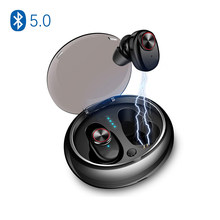 NVAHVA Mini TWS Bluetooth V5.0 Earbuds Dual Wireless Earphones Bluetooth Headsets Hands-free For Phone PC TV Pad Car Sports Game(China)