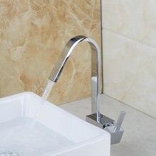 Горячей/холодной водопроводной воды бассейна кухня/ванна умывальник кран для покрытием wivel 360 спрей 92552 хром латунь раковина смесители, смесители краны