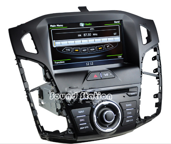 buy for ford for focus 3 2012 2013 2014 2015 car dvd gps navigation navigator. Black Bedroom Furniture Sets. Home Design Ideas